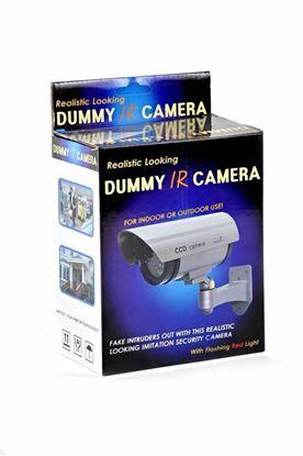 Obrázok Atrapa bezpečnostné kamery s LED diódou