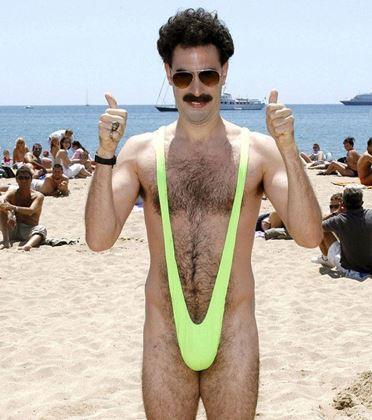 Obrázok z Borat plavky mankiny