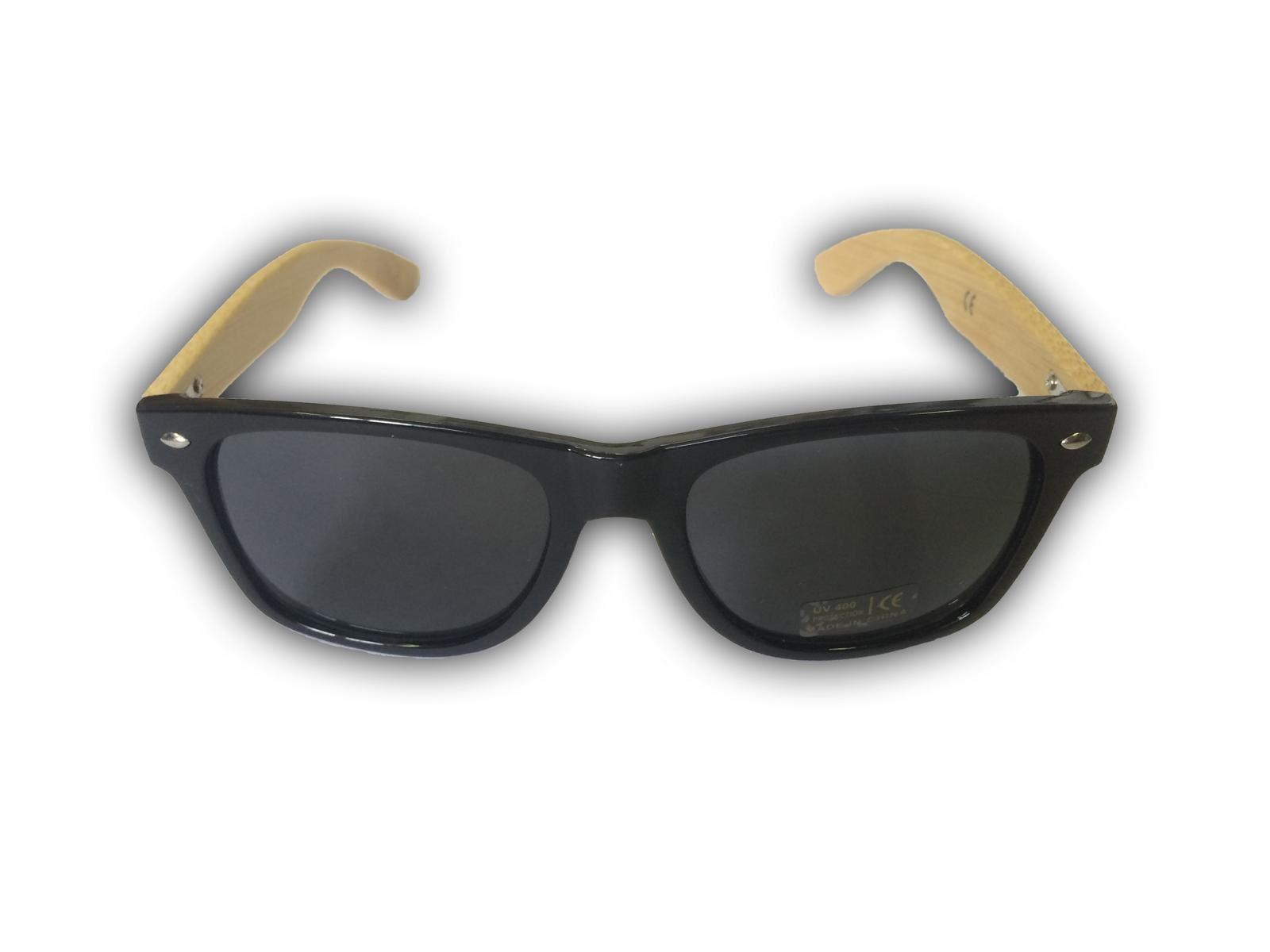 aee2e722f Drevené slnečné okuliare - čierne. Obrázok z Drevené slnečné okuliare -  čierne
