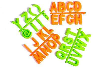 Obrázok Formičky do piesku - abeceda