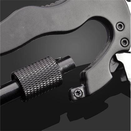 Obrázok z Multifunkční ocelová karabina 5v1