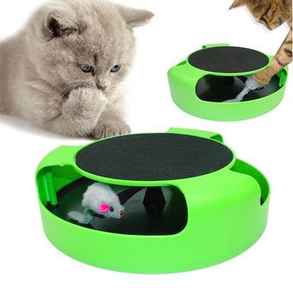 """Obrázok Hračka pre mačku """"Chyť myšku"""""""