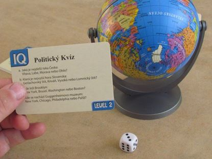 Obrázok Politický kvíz s glóbusom