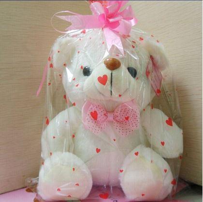 Obrázok z Svietiaci medvedík - biely