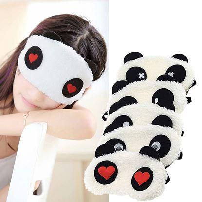 Obrázok Maska na spanie Panda