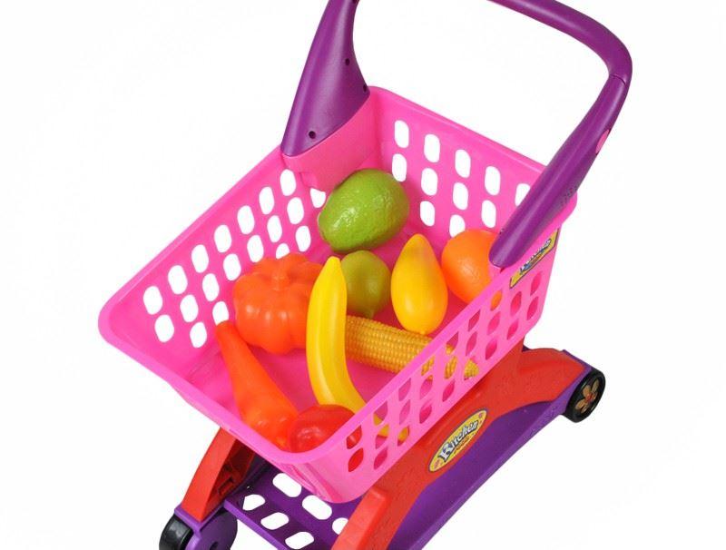 Detský nákupný vozík