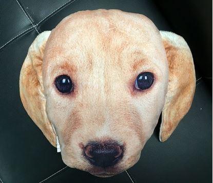 Obrázok Polštář v designu psa - béžový