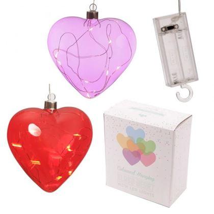 c01415ccb Superobchod.sk   Závesná dekorácia s LED osvetlením - srdce
