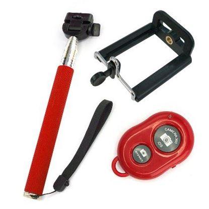 Obrázok Selfie tyč s diaľkovým ovládaním a bluetooth