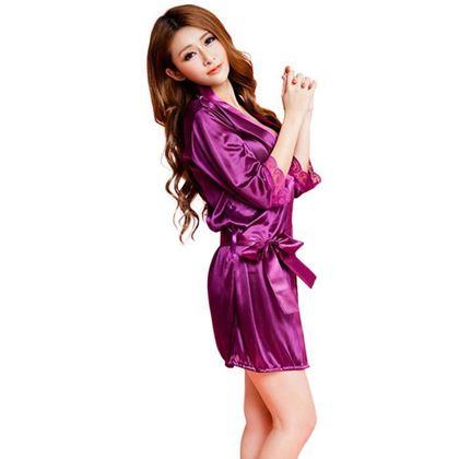 Obrázok z Sexy župan - fialový