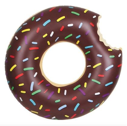 Obrázok z Nafukovací kruh Donut - čokoládový