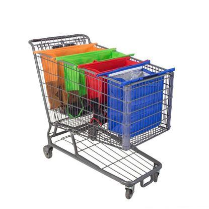 Obrázok Sada nákupných tašek do košíka