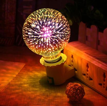 Obrázok Žiarovka - ohňostroj