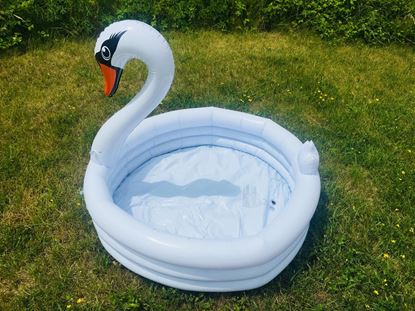 Obrázok Detský nafukovací bazén Labuť