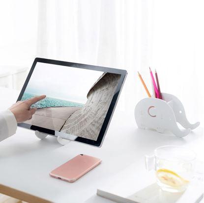 Obrázok Stojan na stôl - slon