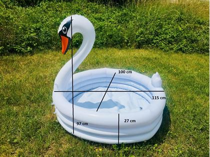 Obrázok z Detský nafukovací bazén Labuť