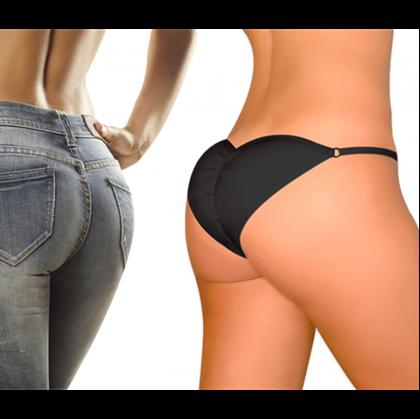 Obrázok z Push-up kalhotky Brazilian Secret - černé - XL