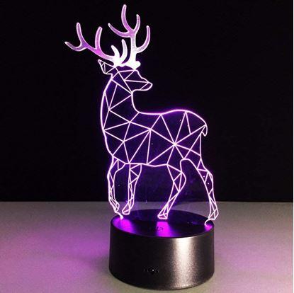 Obrázok  Lampa s 3D ilúziou