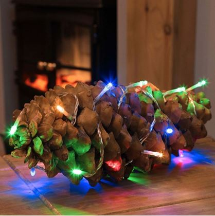 Obrázok z Vianočné osvetlenie 200 LED - multicolor 2v1