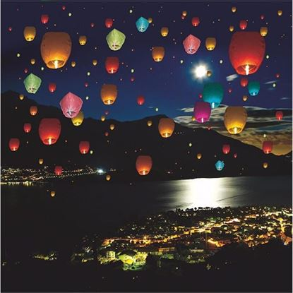 Obrázok Lampióny šťastia 50 ks mix farieb
