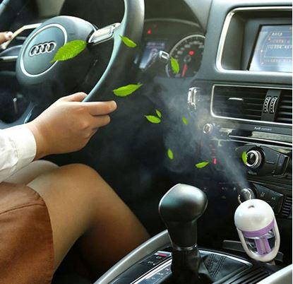 Obrázok Difuzér na vôňu do auta s USB