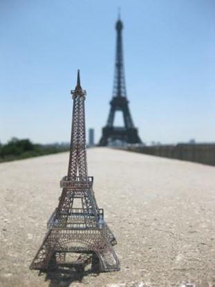 Obrázok 3D puzzle – Eiffelova veža