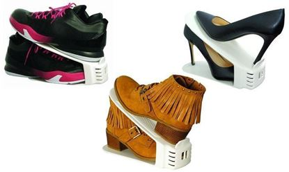 Obrázok Plastový organizér na topánky - sada 20 ks
