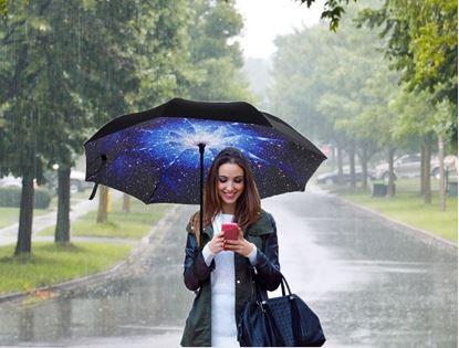 Obrázok Obrátený dáždnik