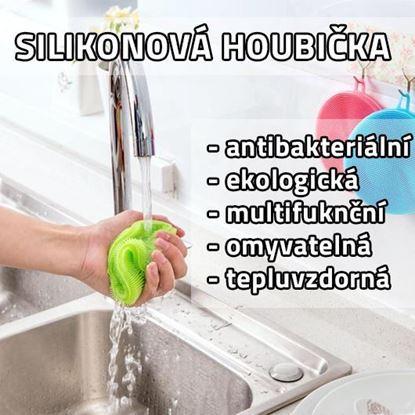 Obrázok Antibakteriálna silikónová hubka