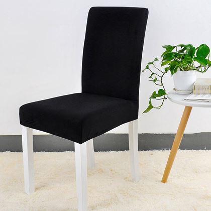 Obrázok z Potah na židli - černý