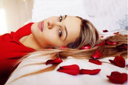 Obrázok Posteľ plná ruží 100ks