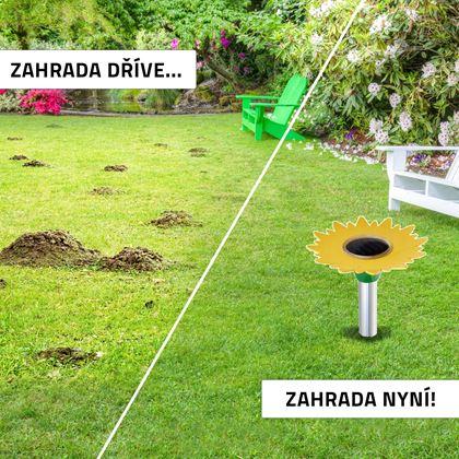 Obrázok z Solárny odpudzovač škodcov