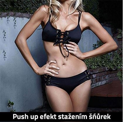 Obrázok z Push up plavky - S