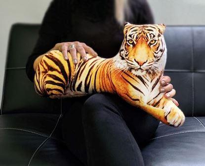 Obrázok Vankúš - 3D tiger