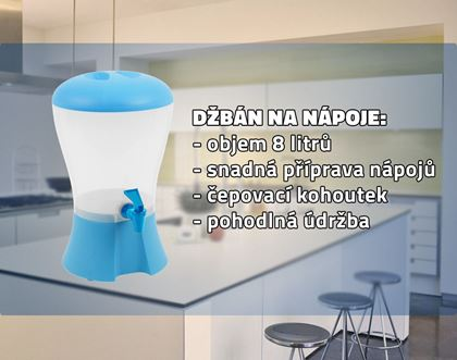 Obrázok z Džbán s kohútikom na nápoje