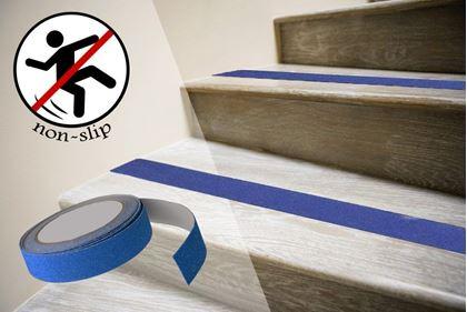 Obrázok z Protišmykové samolepiace pásky - modré