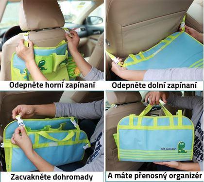 Obrázok z Detský organizér na sedačku