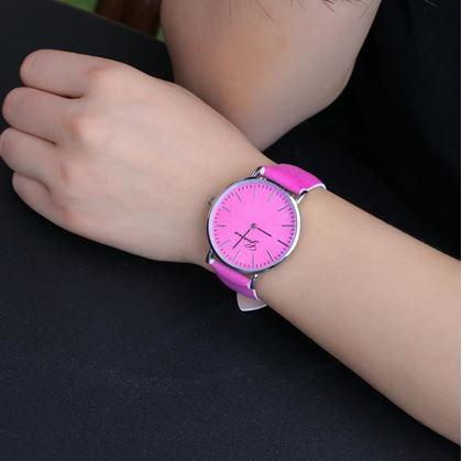 Obrázok z Hodinky meniace farbu - ružové