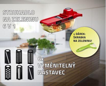 Obrázok Strúhadlo na zeleninu 6 v 1