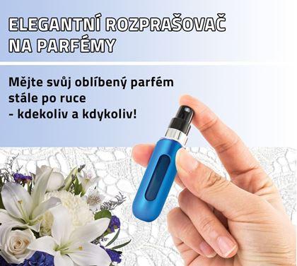 Obrázok z Elegantný rozprašovač na voňavky - modrý