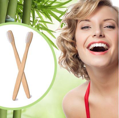 Obrázok Bambusová zubná kefka