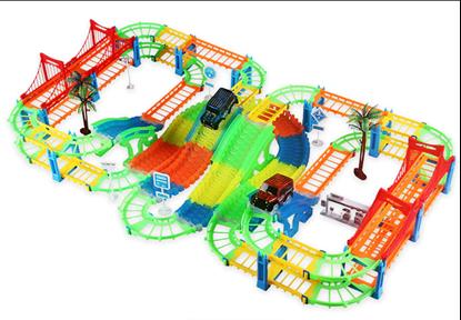 Obrázok Autodráha s mosty a autíčkami
