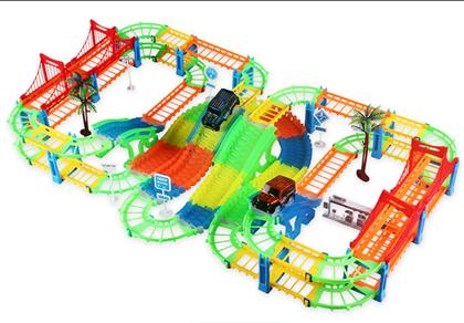 Obrázok z Autodráha s mosty a autíčkami