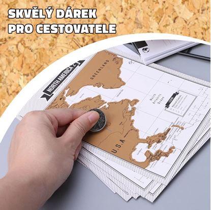 Obrázok Cestovný denník so stieracimi mapami