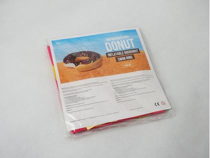 Obrázok z Nafukovací kruh Donut - ružový