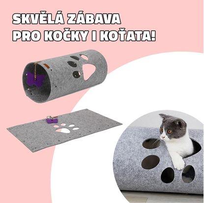 Obrázok Tunel pre mačky