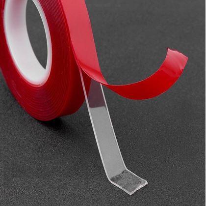 Obrázok z Obojstranná lepiaca páska 300 cm x 1 cm