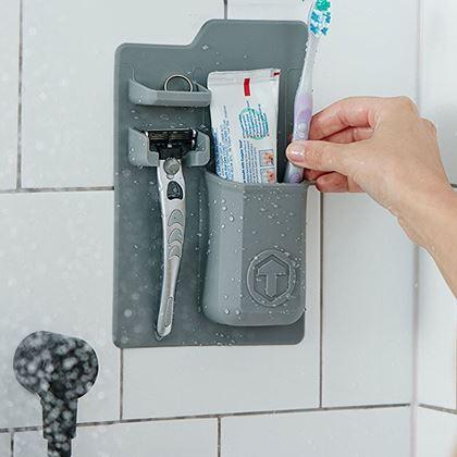 Obrázok z Držiak na hygienické potreby - sivá