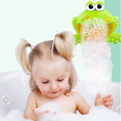 Obrázok z Bublinkovač do vane - žaba