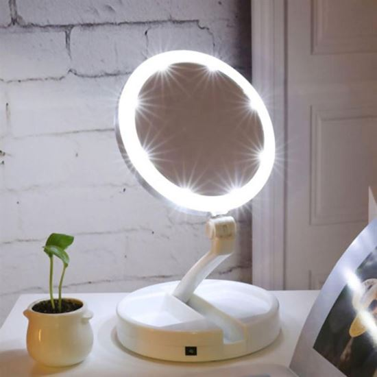 Obrázok z Prenosné podsvietené zrkadlo